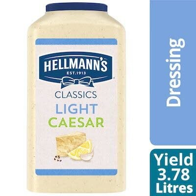 Hellmann's® Light Caesar Salad Dressing 2 x 3.78 L -