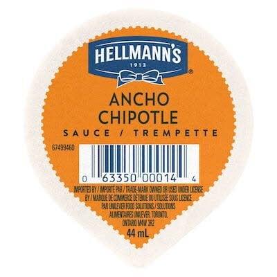 Hellmann's® Trempette Ancho Chipotle 108 x 44 ml -