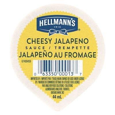 Hellmann's® Cheesy Jalapeño Sauce Dip Cup 108 x 44 ml -