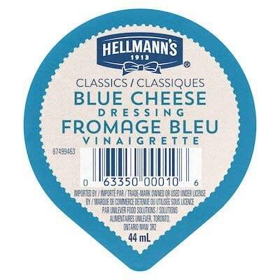 Hellmann's® Classics Blue Cheese Dressing Dip Cup 108 x 44 ml -