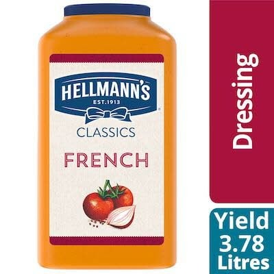 Hellmann's® Classics French Salad Dressing 2 x 3.78 L -