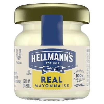 Hellmann's® Vraie Mayonnaise Mini Pot 72 x 35.5 ml -
