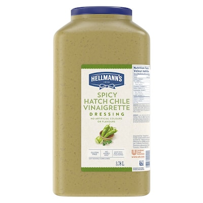 Hellmann's® Spicy Hatch Chile 2 x 3.78 L - I'm constantly looking for new flavour combinations like the Hellmann's® Spicy Hatch Chile (2 x 3.78 L) to keep my salads fresh and exciting.