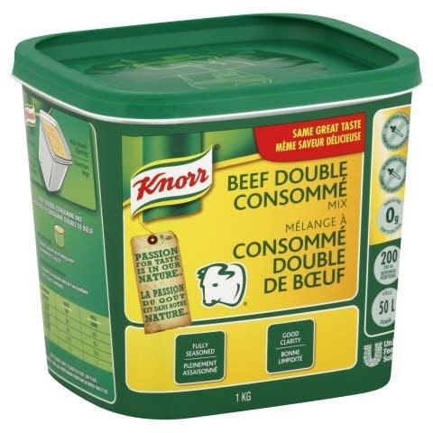 Knorr® Professionnal Mélange à Consommé Double de Bœuf 6 x 1 kg -