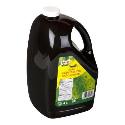 Knorr® Professionnel Bovril Bouillon Concentré Liquide de Bœuf 2 x 4 L -