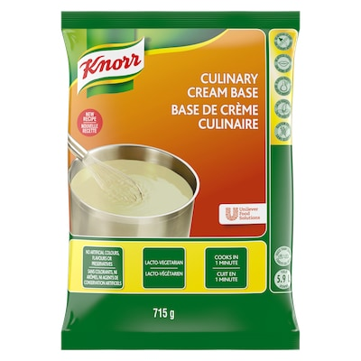 Knorr® Professional Culinary Cream Base 6 x 715 gr - Knorr® Professional Culinary Cream Base 6 x 715 gr offers superior heat performance.