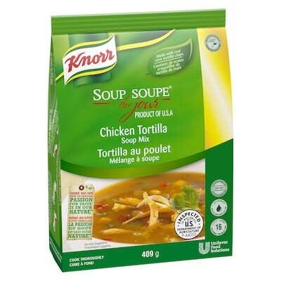 Knorr® Professional Soup Du Jour Mix Chicken Tortilla Soup 4 x 411 gr -