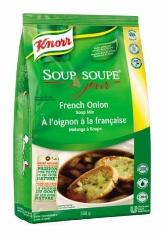 Knorr® Professional Soup Du Jour Mix French Onion 4 x 366 gr -