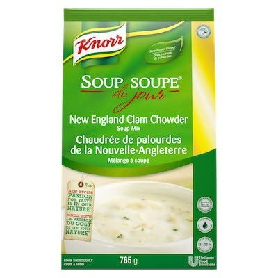 Knorr® Professional Soup Du Jour Mix New England Clam Chowder 4 x 765 gr -