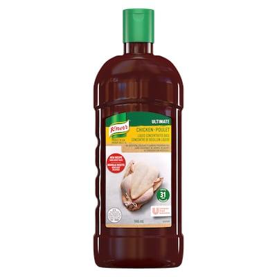 Knorr® Professionnel Ultimate Bouillon de Poulet Liquide Concentré 4 x 946 ml - Knorr® liquid concentrated base offers exceptional flavour, colour, and aroma.