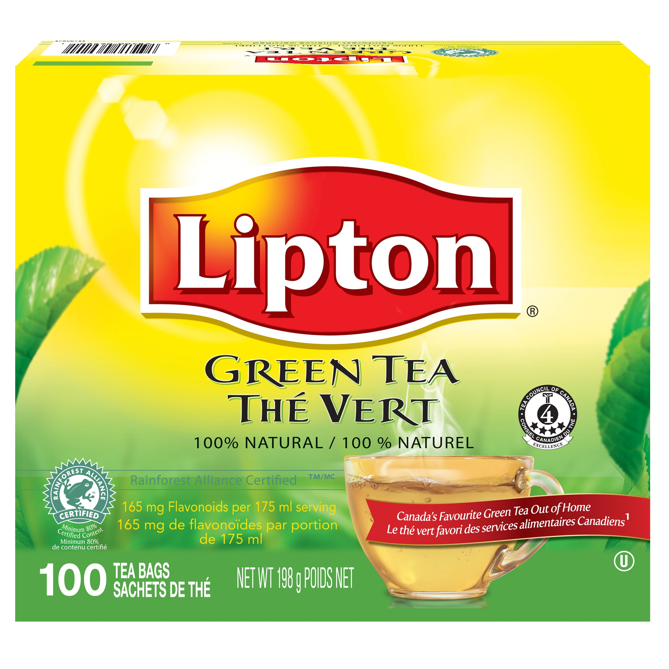 Lipton® Green Tea 5 x 100 bags - Lipton® Green Tea 5 x 100 bags suits every mood.