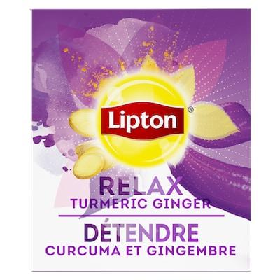 Lipton® Thé Chaud Curcuma et Gingembre 6 x 28 sachets -