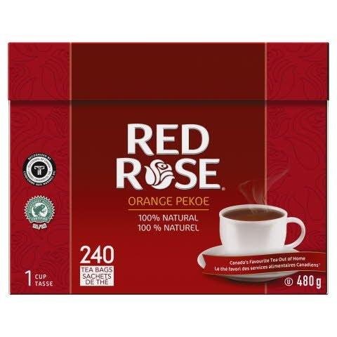 Red Rose® Tea Orange Pekoe 4 x 240 bags a 1 cup -