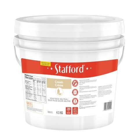 Stafford® Red Label Neutral Cream Soup Base 1 x 4.5 kg -