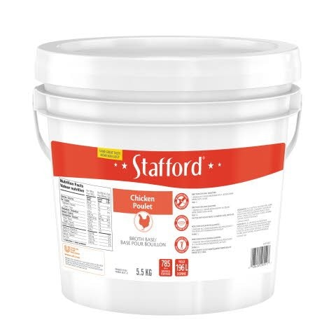 Stafford® Blue Label Chicken Bouillon Base 1 x 5.5 kg -