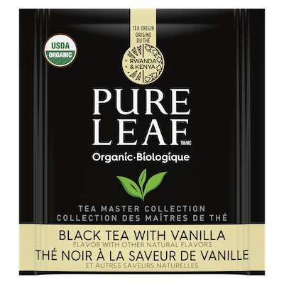Pure Leaf™ Organic Black with Vanilla Hot Tea 6 x 25 ct -