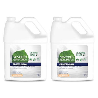 Seventh Generation Professional All Purpose Cleaner Refill 2 x 3.78 l - USDA certified