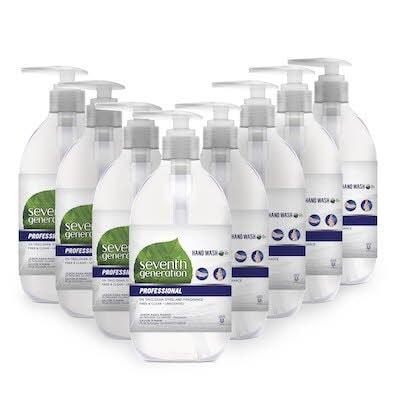 Seventh Generation® Professional Liquid Hand Soap Dispenser 8 x 350 ml -