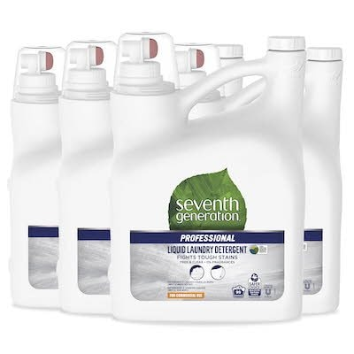 Seventh Generation Professional Liquid Laundry Detergent 4 x 4.43 l - USDA certified