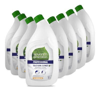 Seventh Generation® Professional Toilet Bowl Cleaner 8 x 0.95 l - Sold in a convenient 1 l size