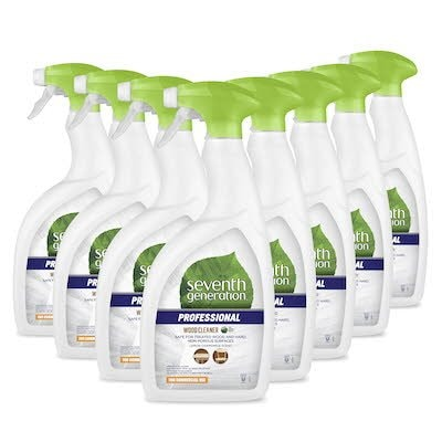 Seventh Generation Professional Wood Cleaner 0.95 l x 8 - Safe for treated wood and hard, non-porous surfaces