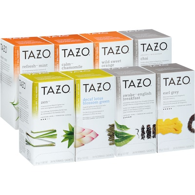 TAZO® Hot Tea Assorted Variety 16 x 24 bags -