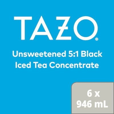 TAZO® Iced Tea Concentrate 5:1 Black 6 x 946 ml -