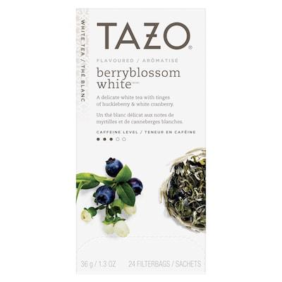 TAZO® Hot Tea Berry Blossom White 6 x 24 bags -