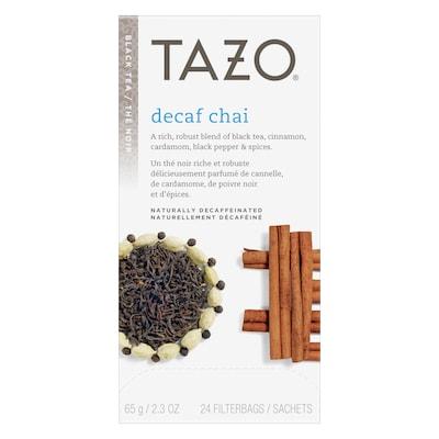 TAZO® Hot Tea Decaf Chai 6 x 24 bags -