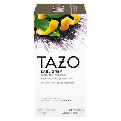 TAZO® Hot Tea Earl Grey 6 x 24 bags - We've got our own thing brewing with TAZO® Hot Tea Earl Grey 6 x 24 bags: dare to be different