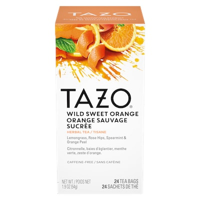 TAZO® Hot Tea Wild Sweet Orange 6 x 24 bags - We've got our own thing brewing with TAZO® Hot Tea Wild Sweet Orange 6 x 24 bags: dare to be different