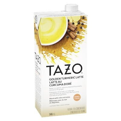TAZO® Turmeric Golden Milk 6 946ml -