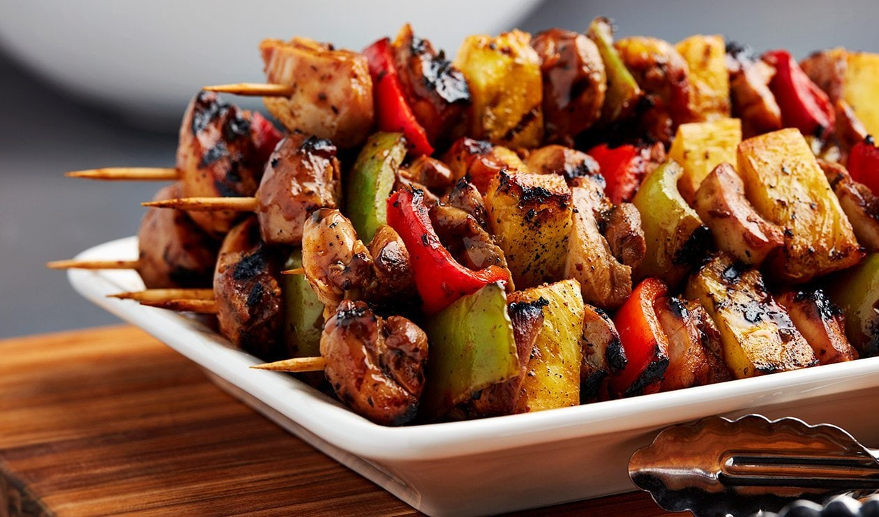 Jerked Chicken Skewers – recipe