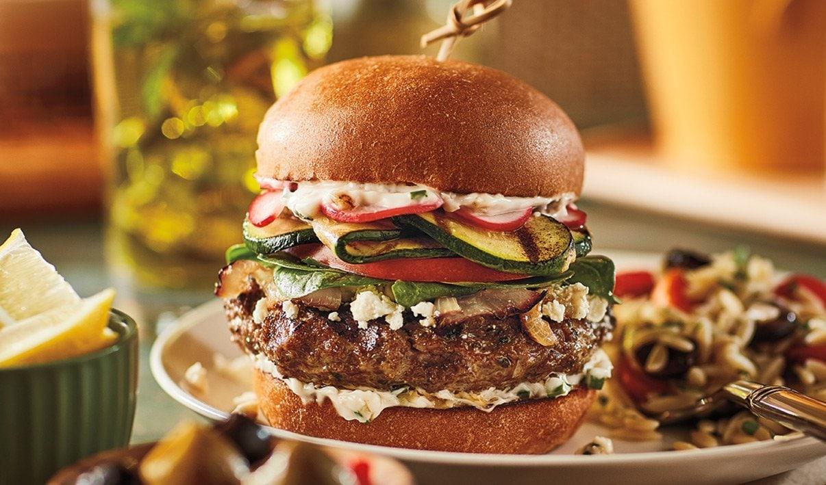 Herbed Lamb Burger – recipe
