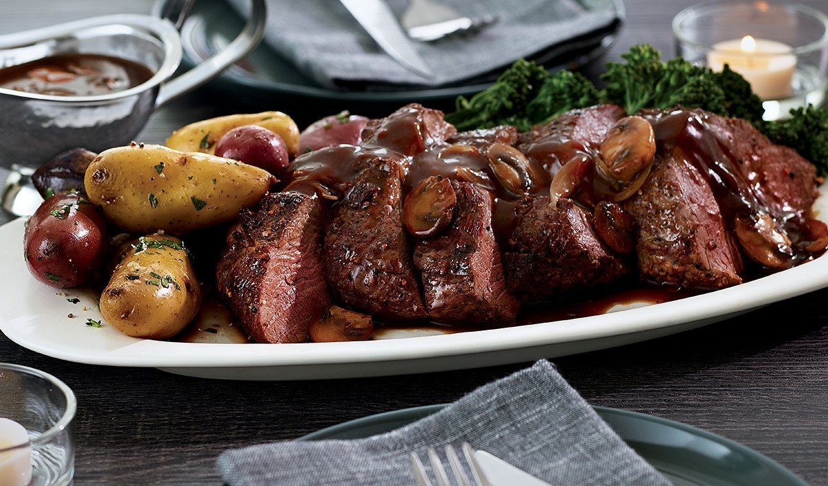 Chateaubriand for Two with Smoky Scotch Sauce – recipe