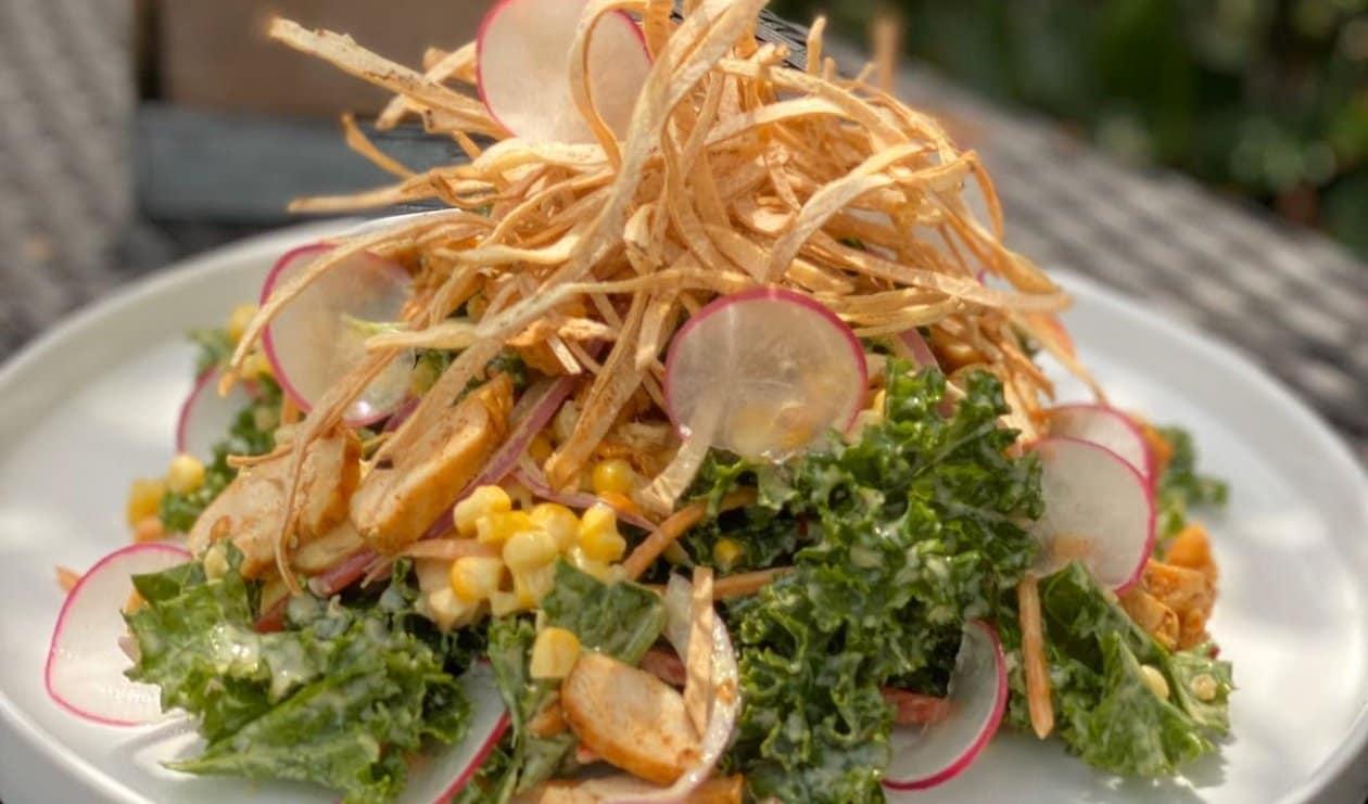Chicken Kale Crunch – recipe