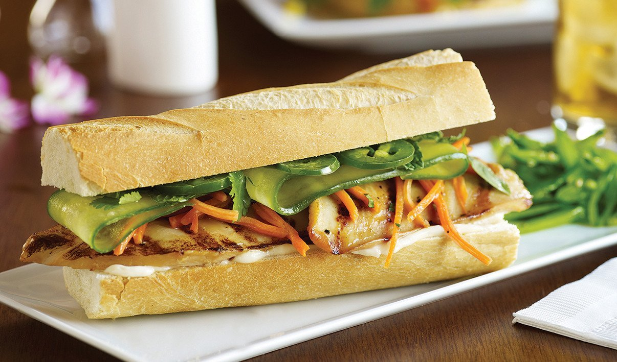 Chicken Banh Mi – recipe