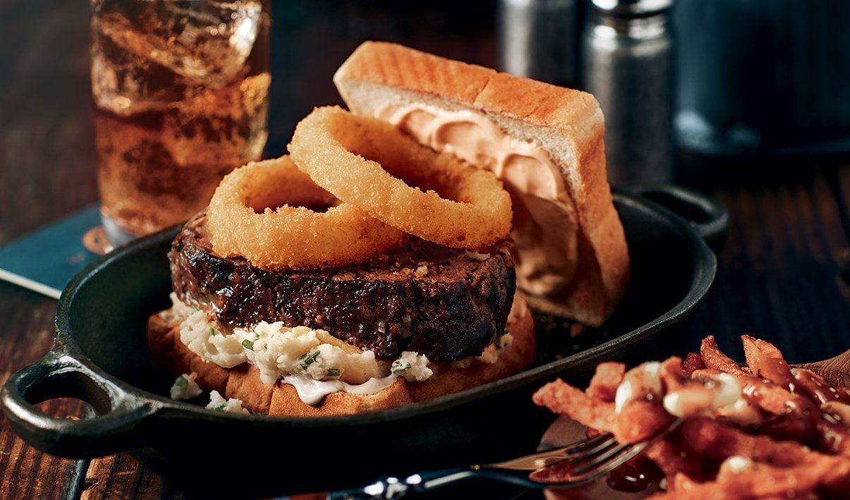 Mile High Meatloaf Burger – recipe
