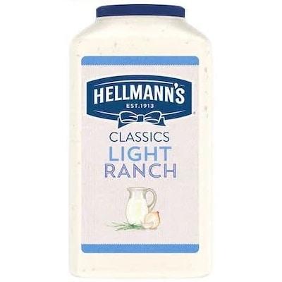 Hellmann's® Light Ranch Salad Dressing 2 x 3.78 L -