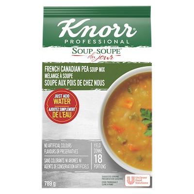 Knorr® Professionnel Soupe du Jour Soupe aux Pois de chez nous 4 x 789 gr -