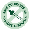 Sans colorants ou saveurs artificiels