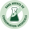 Sans agents de conservation artificiels