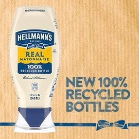 New 100% Recycled Bottles