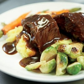 Korean Braised Short Ribs