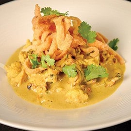 Cauliflower Khao Soi