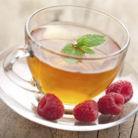 Apple Raspberry Green Tea