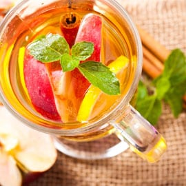Cinnamon Apple and Cherry Tea